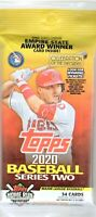 1-2020 TOPPS SERIES 2 BASEBALL AUTO/RELIC/1/1/ PLATE/PATCH/S/#ED? JUMBO HOT PACK