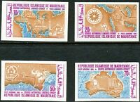 MAURETANIEN 1969 Transkontinentale Autorallye London-Sydney U/M set IMPERFORATED