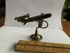 More details for ww2 german doodlebug rocket flying bomb brass trench art ornament london blitz