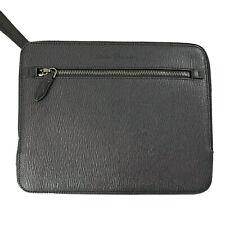 Y-1382235 New Salvatore Ferragamo Revival Portfolio Pouch Document Holder $795