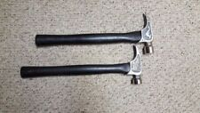 """Lot of 2 NEW Claw Hammer 17.5"""" Handle Wood- Ash Handle Magnetic Nail Holder"""