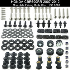 For 2007-2012 Honda CBR600RR 2008 2009 2010 2011 Fairing Bolt Kit Body Screws