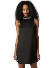 Topshop High Neck Embellished Dress , UK Size 10 RRP - £38.00