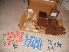 VINTAGE MARX TOYS FORT APACHE PLAY SET 1978 ORIGINAL BOX
