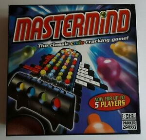 Mastermind The Classic Code Cracking Game for 2-5 Players