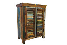 Reclaimed Sideboard Cupboard Vintage Wood Door Bathroom Cabinet FREE DELIVERY