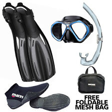 Open Water Starter Pack Scuba Diving Snorkeling Package Snorkel Mask Fins Boot