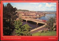 Scotland The Bridge and River Ness Inverness - posted 1983