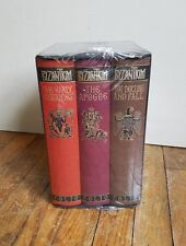 NEW ~ SEALED ~ BYZANTIUM 3 Book Set John Julius Norwich FOLIO SOCIETY