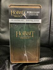 THE HOBBIT: THE MOTION PICTURE TRILOGY (4K UHD + DIGITAL  EXCLUSIVE STEELBOOK™)