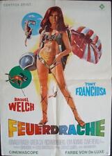 FATHOM German A1 movie poster RAQUEL WELCH ANTHONY FRANCIOSA BIKINI RARE 1967