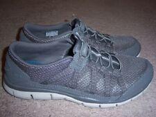 Size 8.5 M Skechers Gratis Strolling # 22823 Gray Slip On Memory Foam Excellent