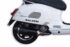 Pot échappement MALOSSI RX PIAGGIO VESPA GTS 125 250 300 granturismo Homologué