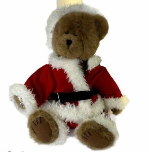 Boyds Bears Head Bean Collection Best Dressed Mr Kringle Santa Plush With Tag