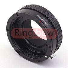 Adaptador de Infinito Macro Ajustable Canon EOS EF a Sony NEX Lente Adaptador NEX-3