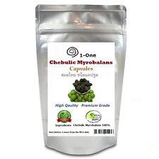 500 Caps HARITAKI Terminalia Chebula @500 mg Chebulic 100% Pure Natural