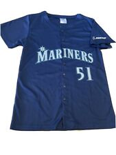 SEATTLE MARINERS #51 Ichiro Suzuki JERSEY YOUTH Medium MLB Baseball Boeing
