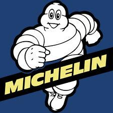 MITCHELIN MAN METAL JUMBO FRIDGE MAGNET,ENAMELLED FINISH, MOTORCYCLE