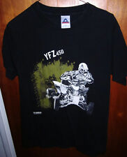 YAMAHA small T shirt YMZ-450 four-stroke ATV four-stroke All-Terrain Vehicle tee