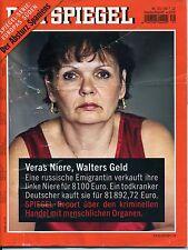 DE SPIEGEL Nr. 31/30.7.12, Veras Niere, Walters Geld