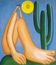 Abaporu    by Tarsila do Amaral  Giclee Canvas Print Repro
