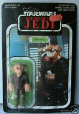STAR WARS : REE-YEES CARDED ACTION FIGURE MADE IN 1983
