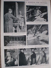 Photo article art painting restoration at Vienna Museum of Historical Art 1935