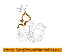 Pontiac GM OEM 06-08 Grand Prix Front Seat-Belt & Buckle Retractor Left 89025870