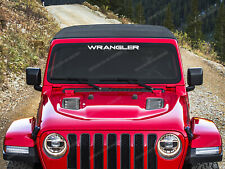 Jeep Wrangler Stickers for Windshield Sahara, Rubicon, YJ, decal, emblem #14