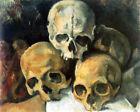 "Print -    Paul Cézanne, ""Pyramid of Skulls,"" 1901"