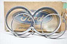 Ford Thunderbird RIGHT Headlight Headlamp Bezel & Ring 1964-1965 64-65 NOS C4SZ
