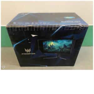 "Acer Predator XB273- 27"" Widescreen Monitor 3840x2160 144Hz 16:9 1ms VRB 350 Nit"
