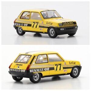 1/43 Spark Renault 5 N°77 Patrick Jacquemart IMSA 1980 Ltd 400Ex Livrai Domicile