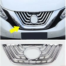 fit Nissan Murano 2015-2018 Chrome Car Front Grill Grille Frame Cover Trim