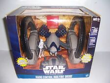 STAR WARS THE CLONE WARS R/C RADIO CONTROL HAILFIRE DROID FIRES MISSLES NEW!