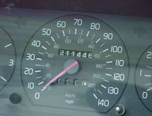 Volvo 940 Turbo Instrument cluster 211,448 miles. 1995 ONLY 940 Sedans/Wagons.