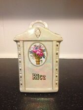 Vintage Rare Mepoco Ware Rice Container Ceramic Made In Germany
