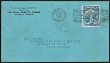 3968 Jamaica To Chile Cover 1936 Kingston - Santiago