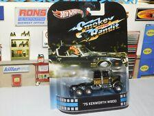 Smokey & the Bandit Classic '75 Kenworth Semi Truck Hot Wheels 1/64