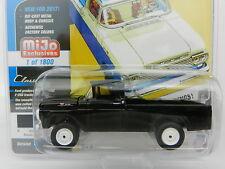 2017 Johnny Lightning *CLASSIC GOLD* BLACK 1959 Ford F-250 Pickup *MIJO EX* NIP!