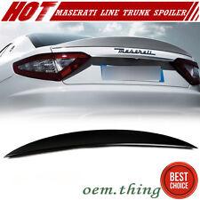 """""""IN STOCK LA"""" Unpaint Maserati Gran Turismo 2DR MC Type Trunk Boot Spoiler 2014"""