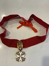 Order Of The Knights Of Malta Medal. Rare!