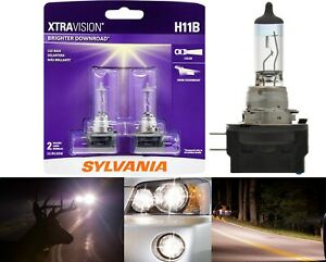 Sylvania Xtra Vision H11B 55W Two Bulbs Head Light Low Beam Replacement Upgrade