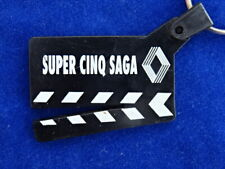 PORTE-CLES / Key-ring - RENAULT 5 SAGA - CLAP CINEMA - SYMPA / Nice ! TOP+++ !