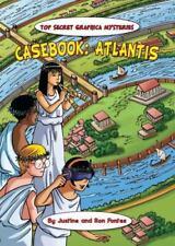 Casebook: Atlantis (Top Secret Graphica Mysteries (Library))-ExLibrary