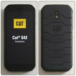 CAT S42 Dual SIM Rugged Smartphone (Unlocked), 32GB. Android 11.