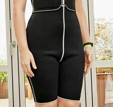 Avon Women's Black Neoprene Trimming Short Workout Body Shaper  Size L (14W-16W)