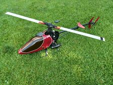 Vintage RC Helicopter Schluter Junior 50 OSmax .50