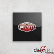 "24""X24"" Bugatti  Badge Luxury Black Open Edition Print"