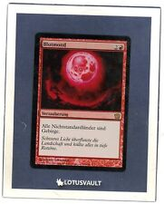MTG - 9th Edition: Blood Moon (German) (Foil) [LV1893]